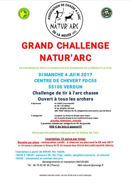 Grand challenge natur arc 2017
